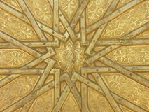 Islamic. Star on door royalty free stock image