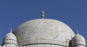 Islamic ancient The dome of hoshang shah tomb, mandav, madhya pradesh, India. The work on this marble mausoleum was begun by houshang shah and completed by Royalty Free Stock Photos