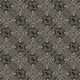 Islamic Arabesque Decorative Pattern. Islamic or tribal style art stone motif abstract geometric arabesque photo collage manipulated digital technique pattern Royalty Free Stock Image