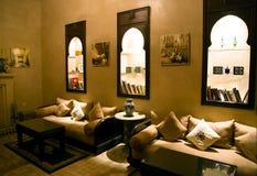 Islamic arabian indoor architecture Royalty Free Stock Image