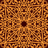 Islamic or arabic seamless pattern Stock Photos
