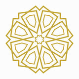 Islamic or arabic shape Stock Image