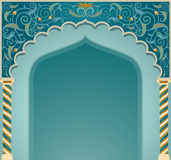 Islamic arch design. Vector illustration of high detailed islamic arch design in EPS10 format