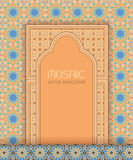 Islamic architectural mosaic background Stock Image