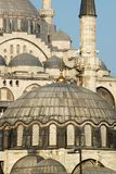 Islamic Architecture. Rustempasa and Suleymaniye Mosques of Istanbul Stock Photography