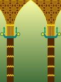 Islamic architecture design Stock Photography