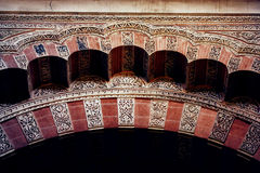 Islamic architecture detail Royalty Free Stock Photography