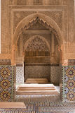 Islamic architecture details (tomb) Royalty Free Stock Photography