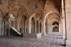 Islamic architecture, jami masjid, mandu, madhya pradesh, india Royalty Free Stock Photos