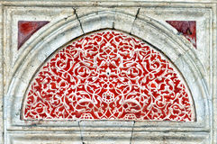 Islamic art 04. Islamic art from the Sehzade mosque in the turkish city of Istanbul royalty free stock photo