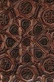 Arabian Oriental Artistic Ornamental carvings Stock Image