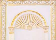 Islamic art arch Stock Images