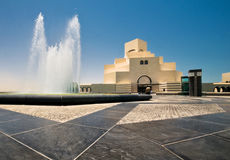 Islamic art museum Stock Photography