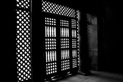 The islamic art in egypt. The islamic art in old cairo in egypt Stock Photography