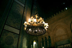 The islamic art in egypt. The islamic art in old cairo in egypt Royalty Free Stock Images