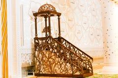 Islamic Art of Shaiekh Zayed Mosque Stock Photography