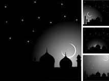 Islamic background. Illustration for Islamic Events such as Ramadan kareem, Eid ul fitr, Eid ul adha Stock Image