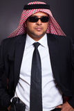 Islamic bodyguard gun Royalty Free Stock Photos