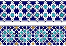 Islamic border Stock Images