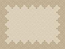 Islamic border frame. Vector ornate in Eastern style. vintage pattern vector illustration