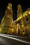 Islamic Cairo at night. Royalty Free Stock Photos