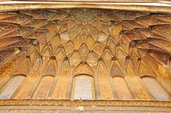 Islamic calligraphy at Wazir Khan Mosque Lahore, Pakistan Royalty Free Stock Image