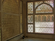 Islamic Carved Windows Stock Photography