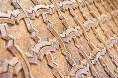 Islamic carving Stock Photos
