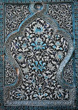 Islamic ceramic decor. On wall Royalty Free Stock Image