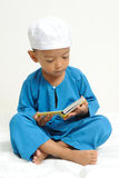 Islamic children were learning stock photo