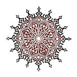Islamic Circle art Royalty Free Stock Image