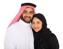 Islamic couple looking Stock Photography