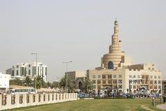 Islamic Cultural Center Fanar in Doha Stock Photos
