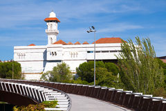 Islamic Cultural Center and Mosque of Madrid Royalty Free Stock Photo