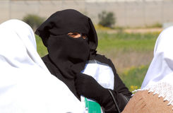 Islamic Culture - Burqa Royalty Free Stock Photos