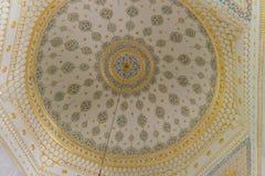 Islamic decoration interior dome. Islamic decoration interior, dome in Topkapı Palace stock image