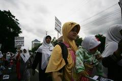 Islamic demonstration Stock Photo