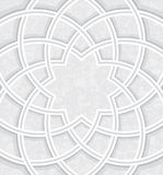 Islamic dome inside Light background Stock Images