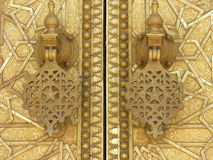 Islamic doors. Doors in Morocco stock images