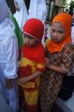 Islamic elementary school students Royalty Free Stock Photography