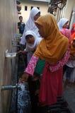 Islamic elementary school students Stock Photos