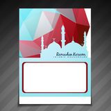 Islamic festival template Royalty Free Stock Image