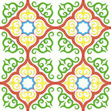 Islamic floral pattern motif Royalty Free Stock Photos