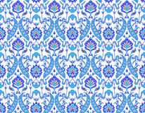Islamic flower Pattern on white royalty free illustration
