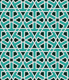 Islamic geometric ornaments based on traditional arabic art. Oriental seamless pattern. Muslim mosaic. Mosque decoration Stock Images