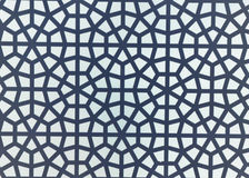 Islamic Geometric Pattern. White and grey Stock Image