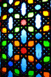 Islamic geometric pattern at Sultan Salahuddin Abdul Aziz Shah Mosque Stock Photography