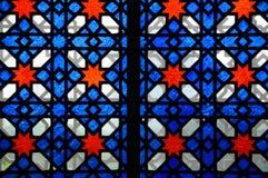 Islamic geometric pattern at Sultan Salahuddin Abdul Aziz Shah Mosque Royalty Free Stock Photo