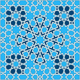 Islamic geometric pattern. Turkish ornament, traditional oriental arabic art. Muslim mosaic. Colorful vector Royalty Free Stock Images