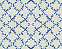 Islamic geometric seamless pattern, background in shades of blue, indigo Royalty Free Stock Image